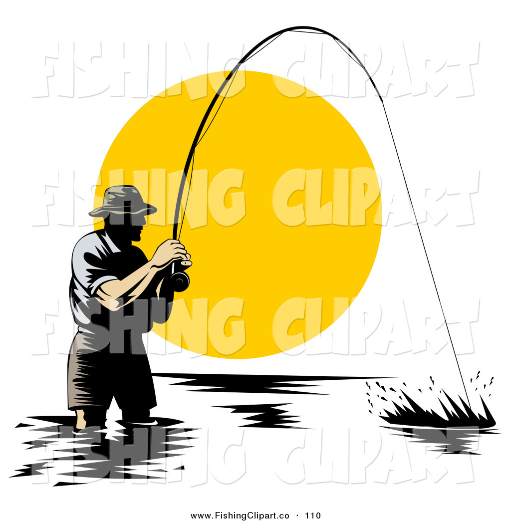 1024x1044 At Sunset Fishing Pole Clipart, Explore Pictures