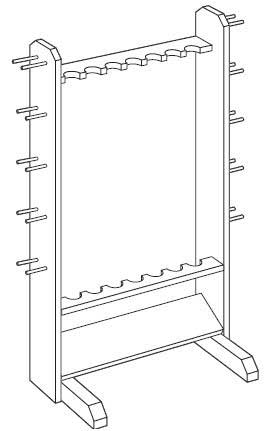 278x431 Fishing Rod Rack Plans