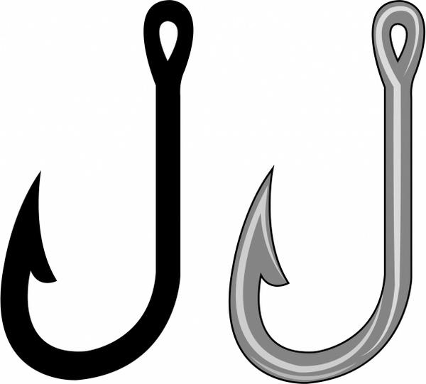 600x541 Fishing Hook Clipart