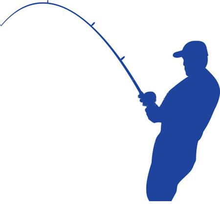 450x430 Fishing Rod Pole Clipart