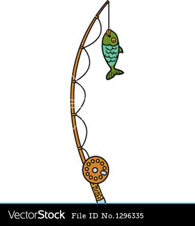 380x440 Fishing Rod Vector Clipart Panda