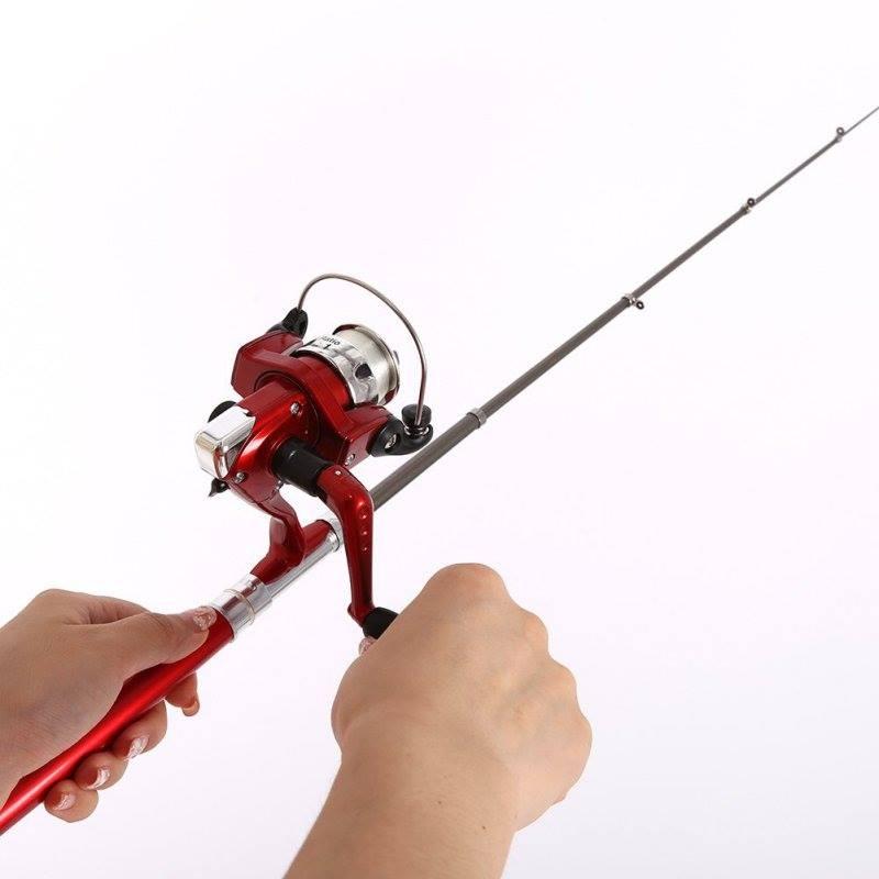 800x800 Buy Online Mini Aluminum Pocket Pen Fishing Rod Pole