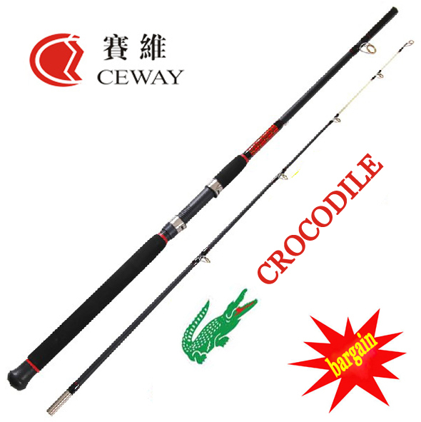 590x591 Carbon Fishing Rods Ceway Crocodile Boat Rod Fish Ocean Pole Hard