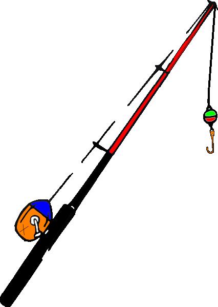 426x599 Fishing Pole Fsf Clip Art