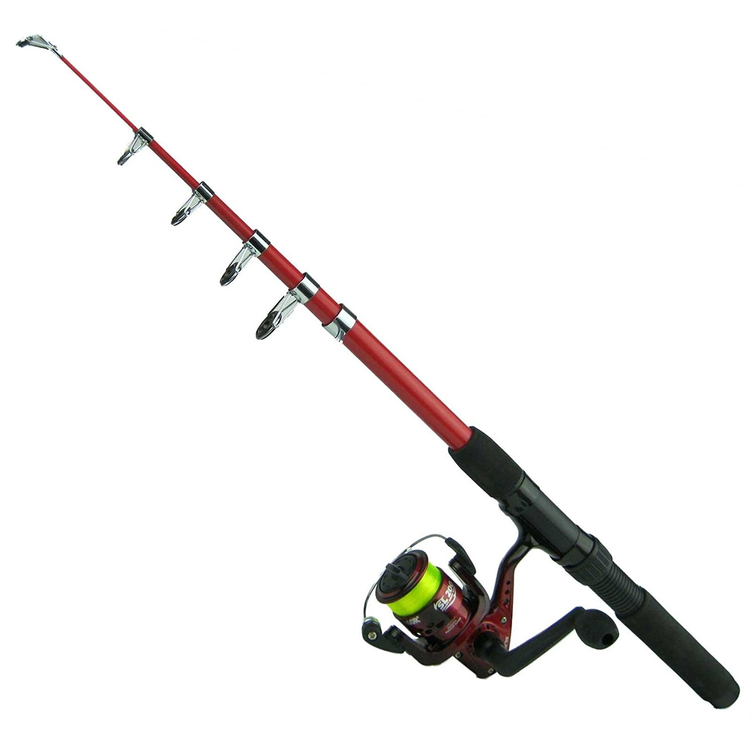 1500x1500 2m Spinning Coarse Telescopic Fishing Rod Amp Reel Combo With Sy200