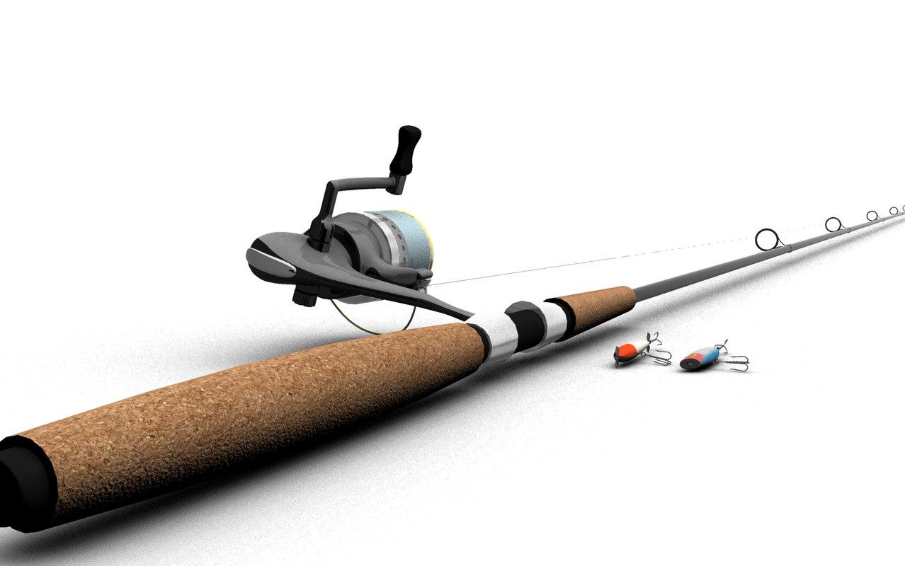 1278x800 Model Fishing Pole