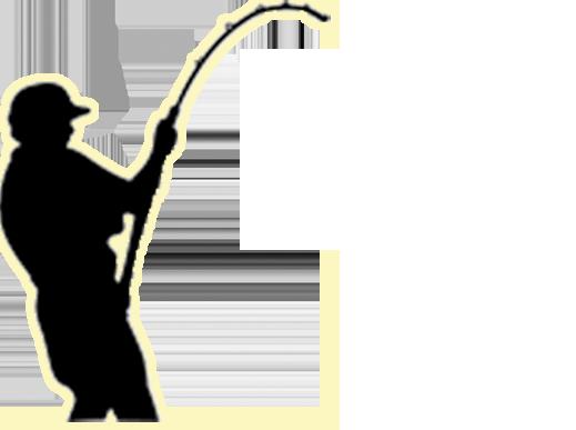 519x387 Fishing Rod Clipart Bent