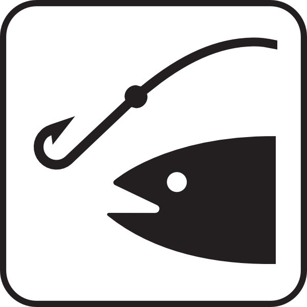 600x600 Fishing Pole Fishing Rod Clipart Hostted 2 Image