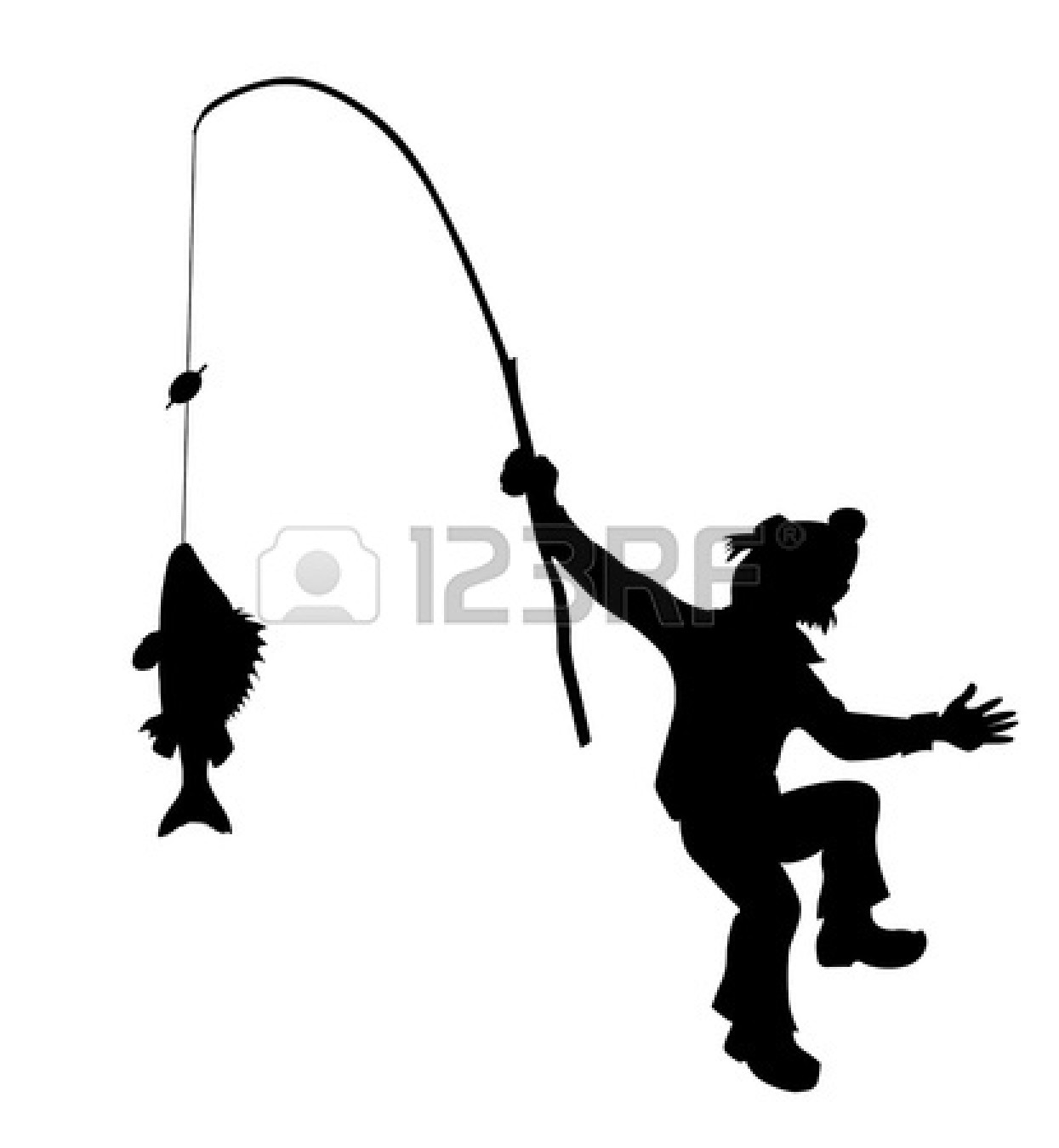 1245x1350 Fishing Pole Black And White Clipart Panda