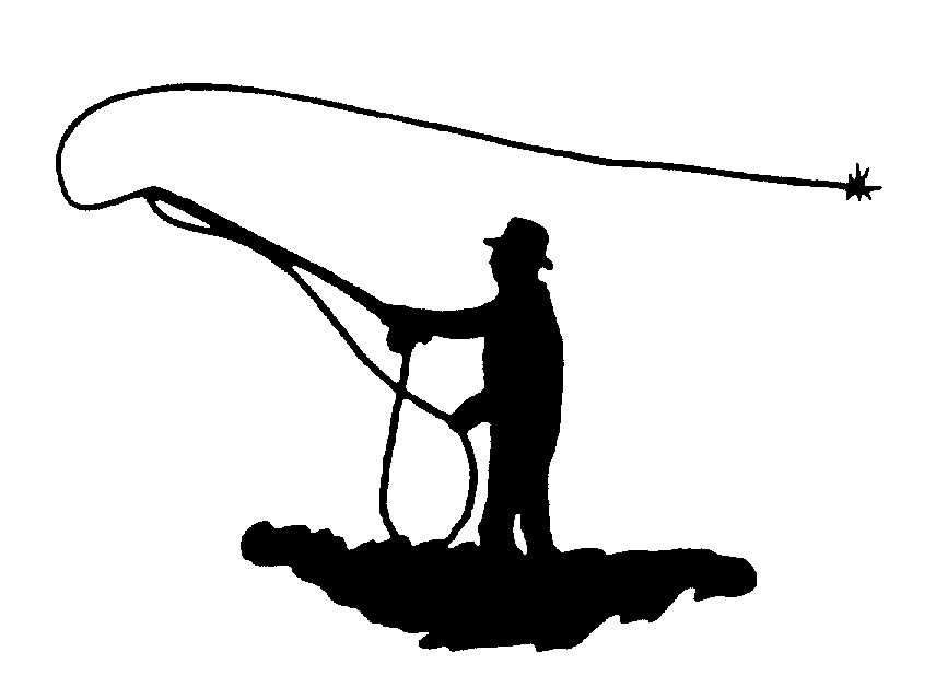 856x628 Fly Fishing Casting Silhouette On Fly Fishing Clipart
