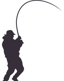 273x345 Silhouette Fishing Png
