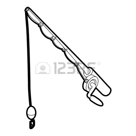Fishing Pole Vector