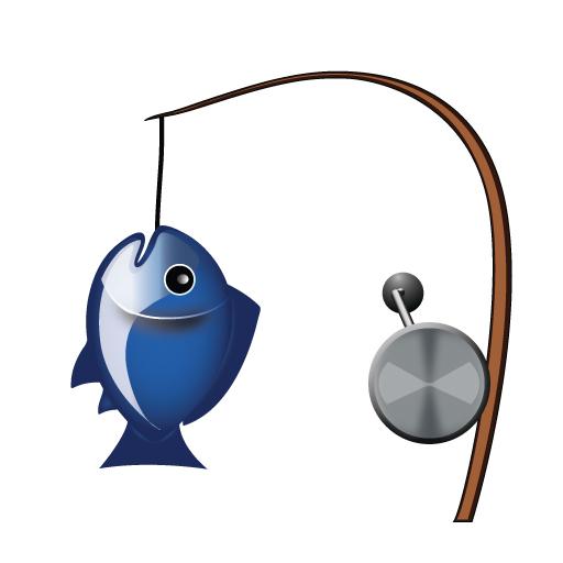 512x512 Fishing Pole And Fish Emojimantra Vector Emoji Custom Emoji