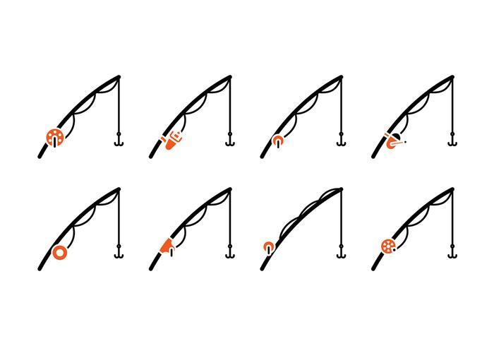 700x490 Fishing Rod Icon Vector