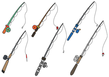 352x247 Fishing Rod Vector Free Vector Download 336209 Cannypic