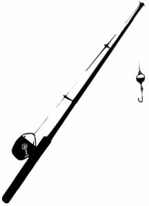 216x299 Fishingpole Clip Art