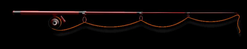 800x160 Free Clipart Fishing Rod Hatalar205