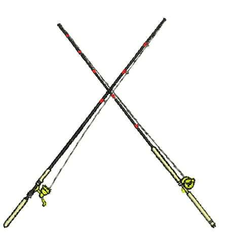 448x461 Small Fishing Pole