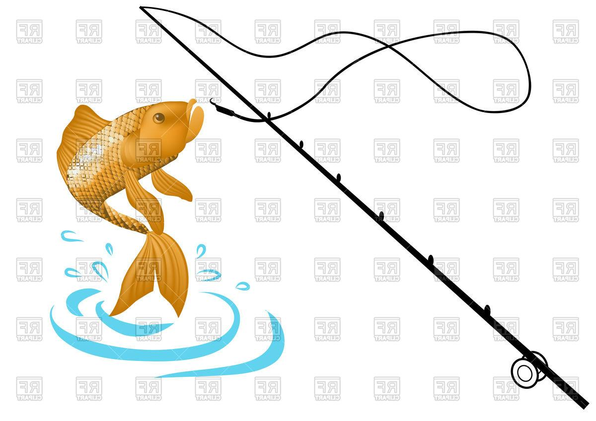1200x849 Top Fishing Pole With Fish Vector Pictures Free Vector Art