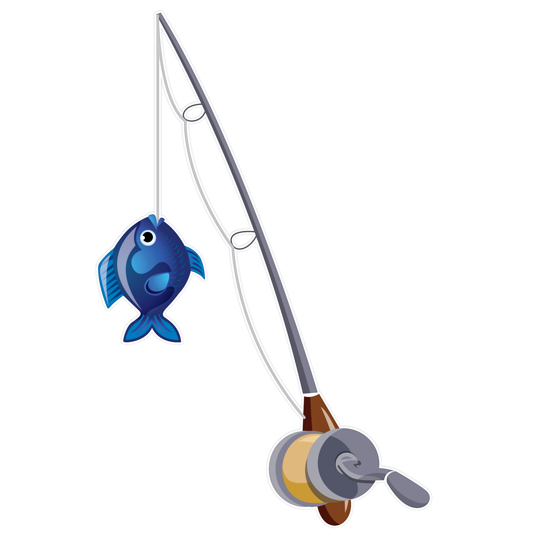 1879x1879 Fishing Rod Clipart