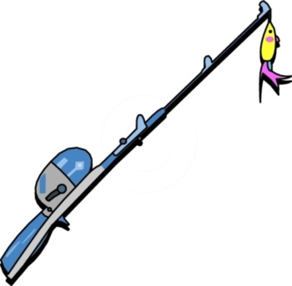 600x588 Fishing Pole 0 Images About Camping Hiking Clip Art