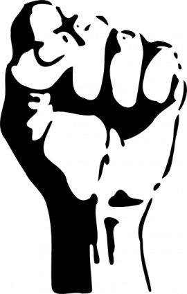 270x425 Raised Fist Clip Art, Vector Raised Fist