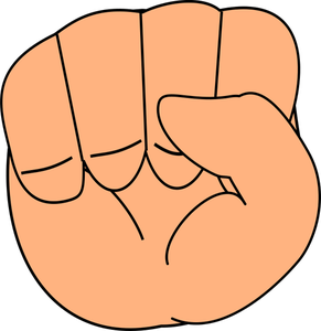 291x300 177 Free Vector Fist Punch Public Domain Vectors
