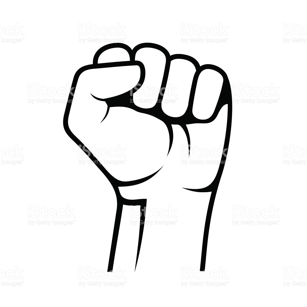 1024x1024 Clipart Of A Fist