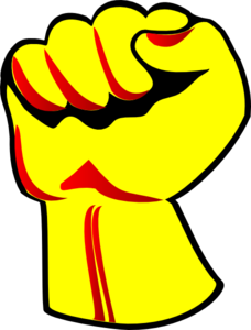 228x300 Fist Clip Art