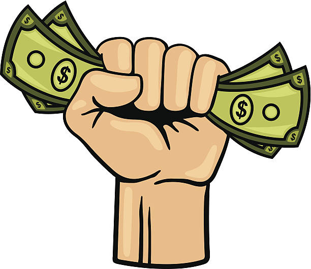 612x530 Fist Full Of Money Clipart