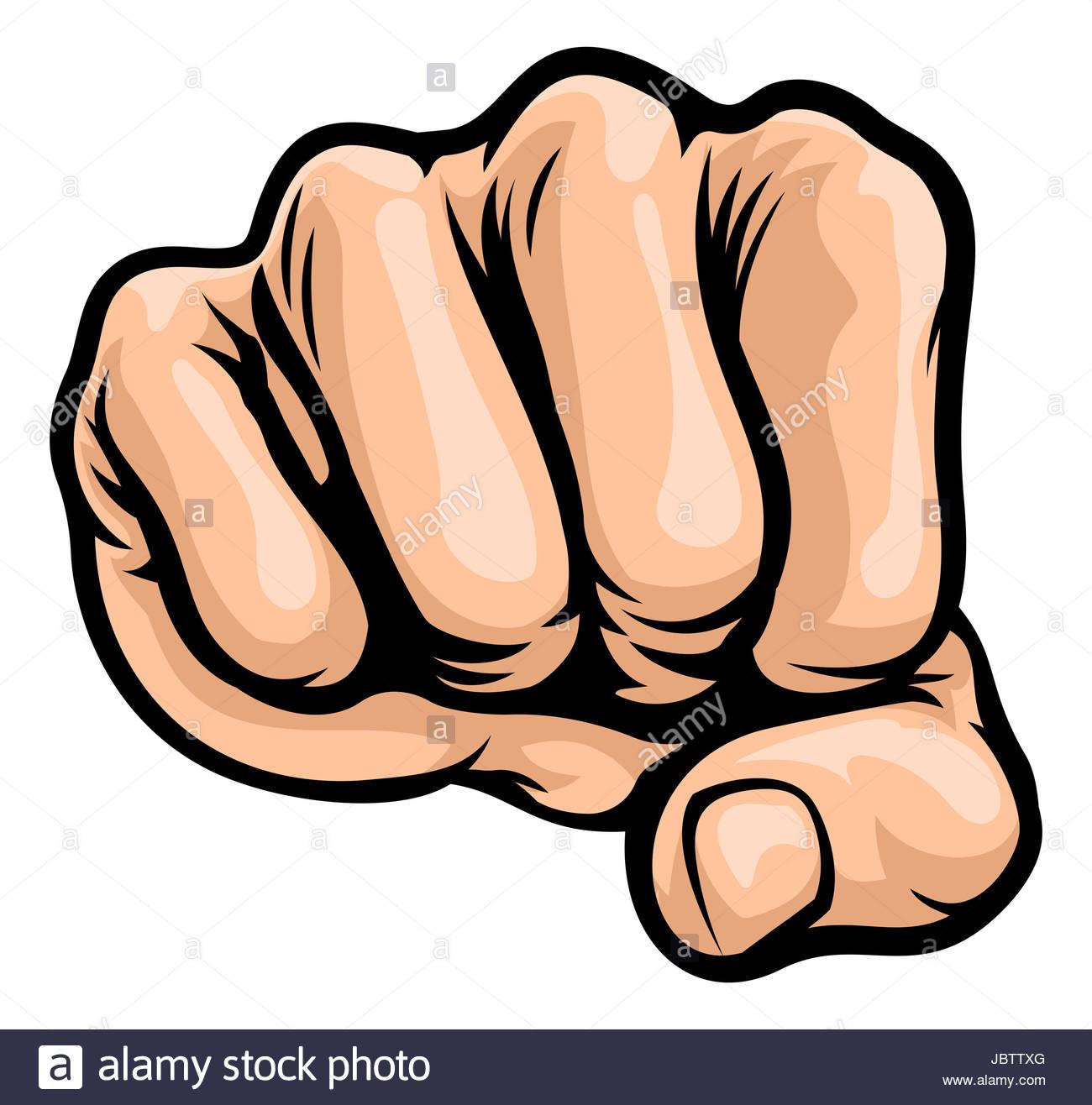 1300x1316 A Pop Art Comic Book Style Punching Cartoon Fist Stock Photo