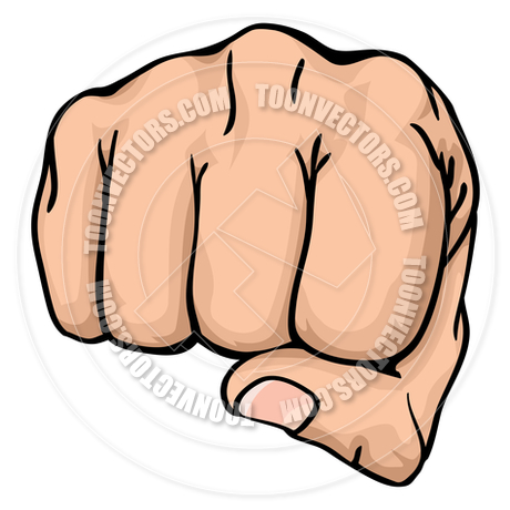 460x460 Fist Punching By Geoimages Toon Vectors Eps