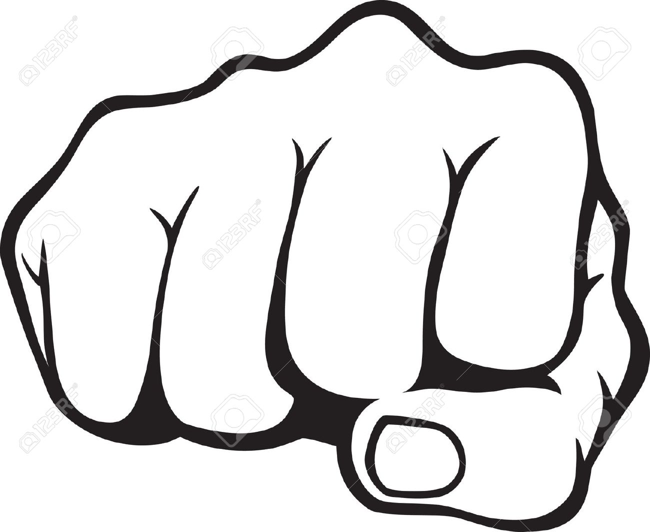 1300x1063 Militant Clipart Fist Punching