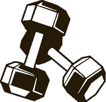 350x337 Fitness Clip Art