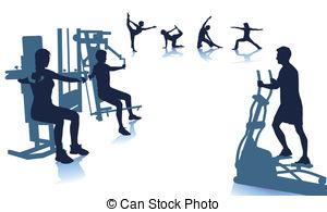 300x195 Fitness Clip Art