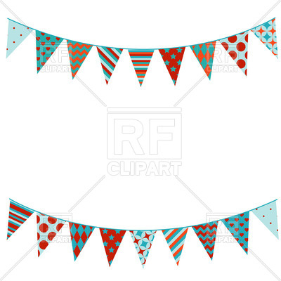400x400 Bunting Flags