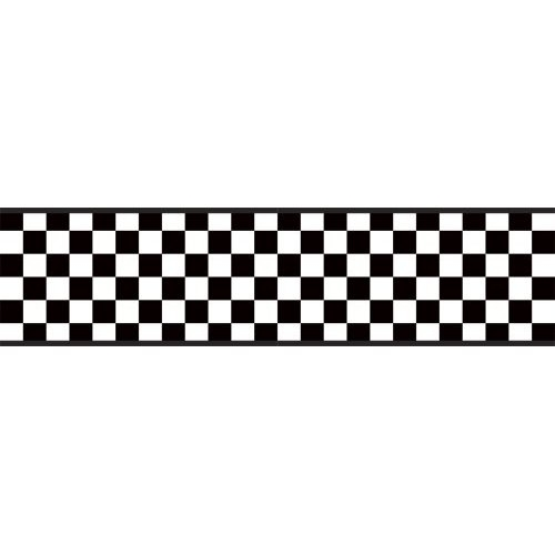 500x500 Checkered Flag Banner Clipart