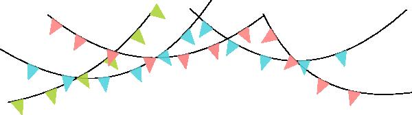 600x168 Flag Banner Clipart