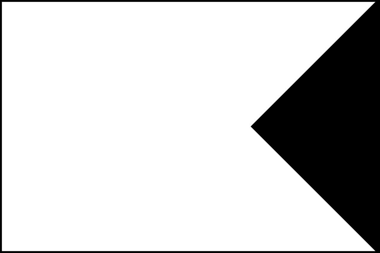 1280x853 Flag Banner Template