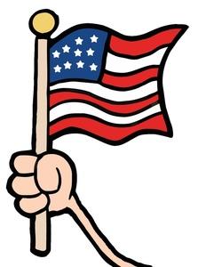 223x300 Free Flag Clip Art Image