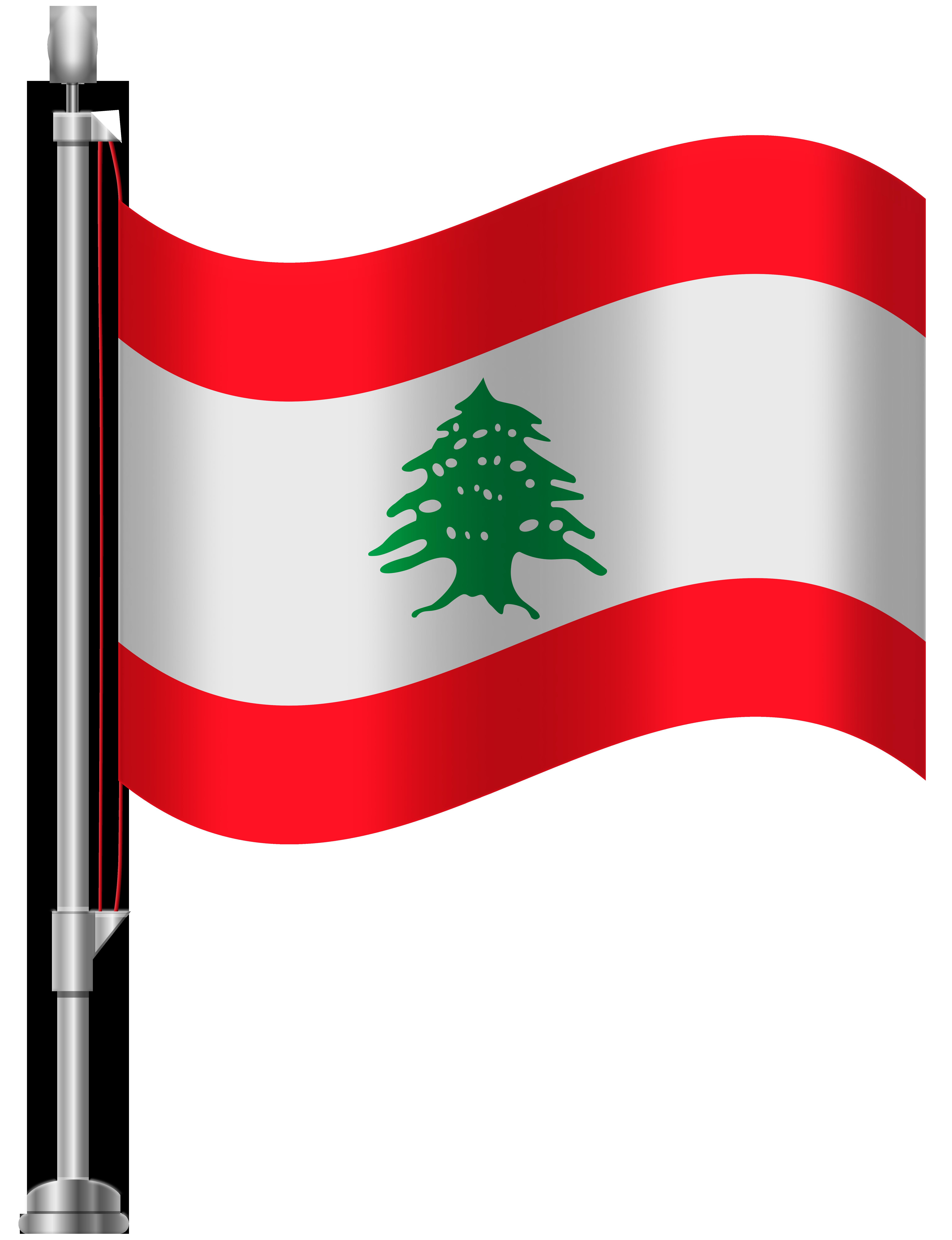 6141x8000 Lebanon Flag Png Clip Art