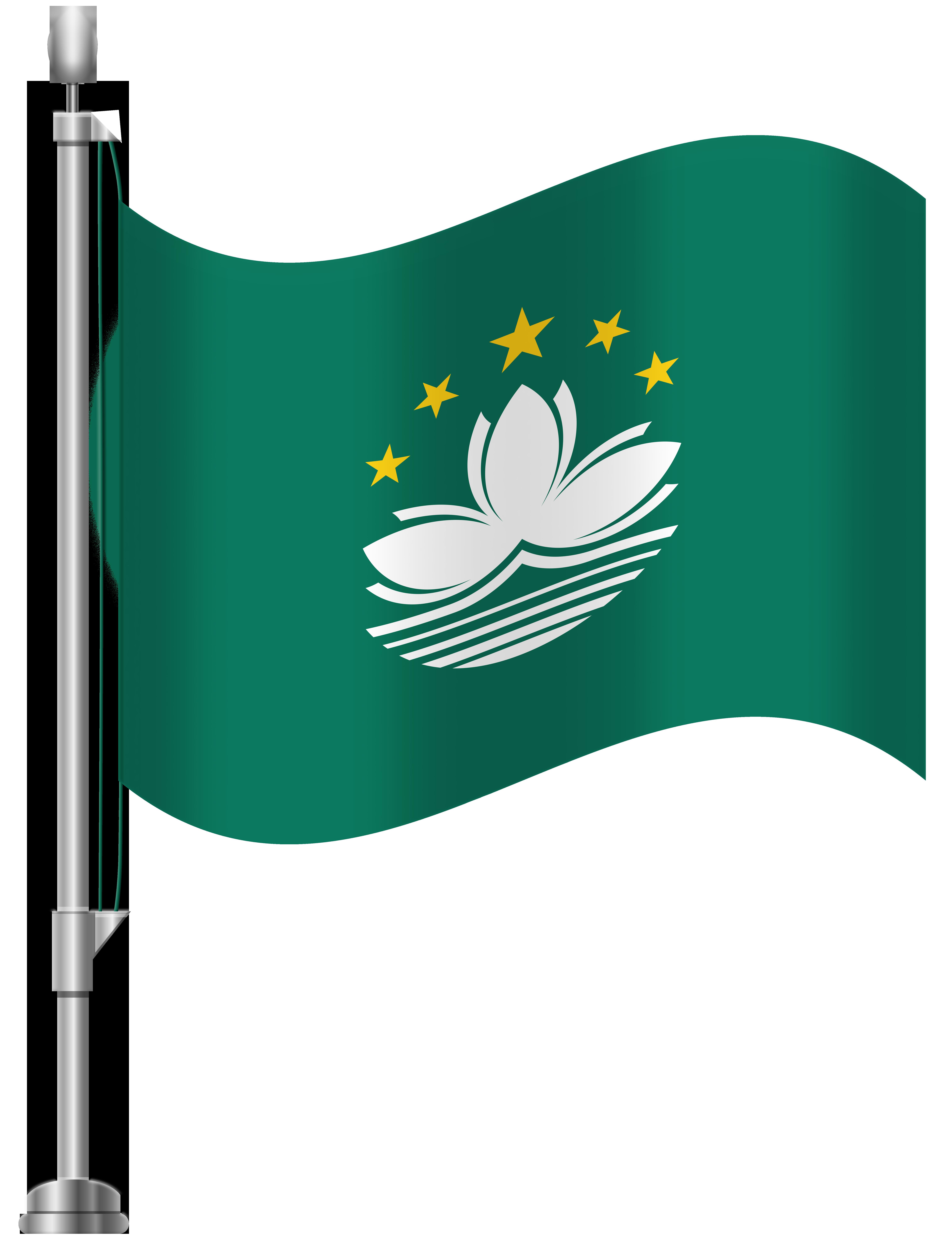 6141x8000 Macau Flag Png Clip Art