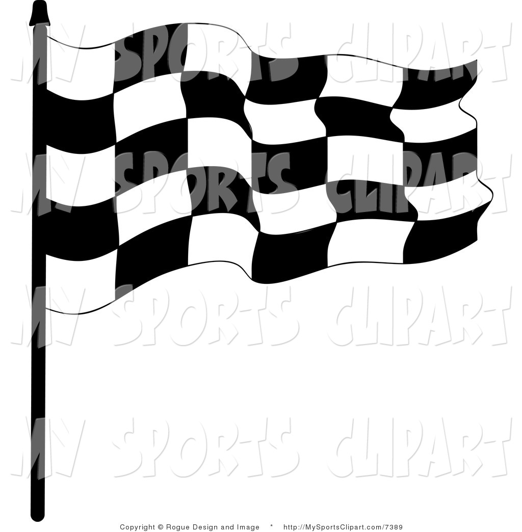 1024x1044 Sports Clip Art Of A Checkered Race Flag By Pams Clipart