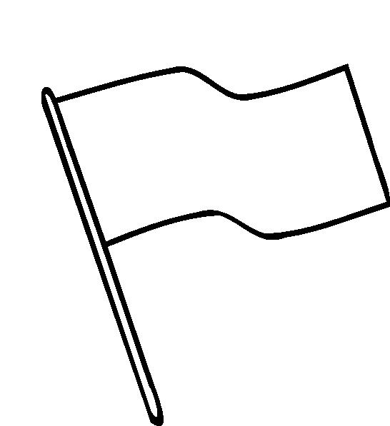 546x597 White Flag Images Clip Art Clipartfest 2