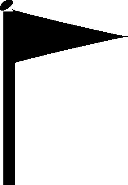 414x596 Black Flag Clip Art