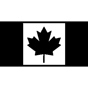 300x300 Canada Clipart Black And White