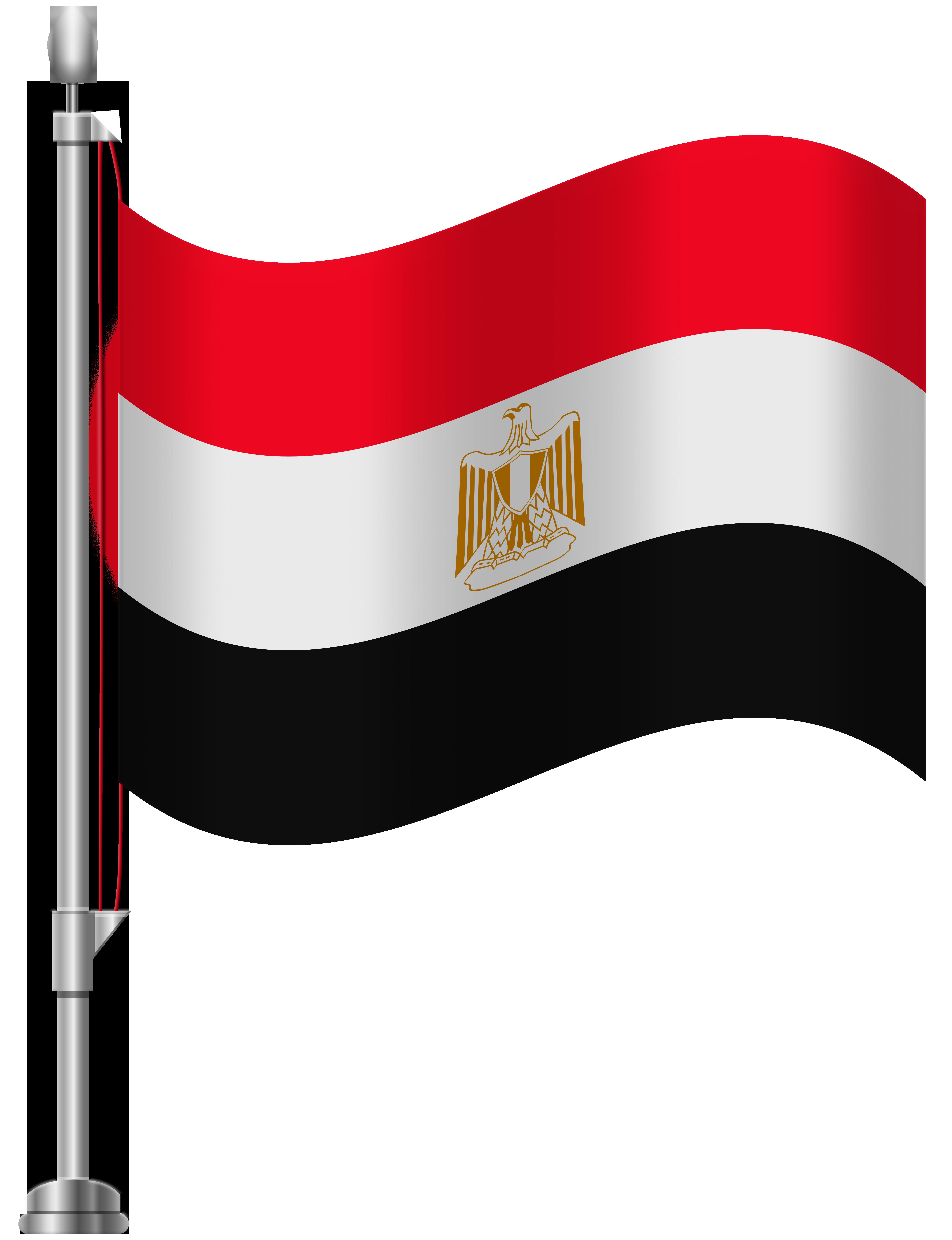 6141x8000 Egypt Flag PNG Clip Art