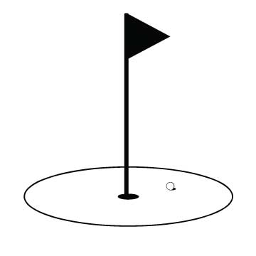 360x360 Golf Flag Clip Art