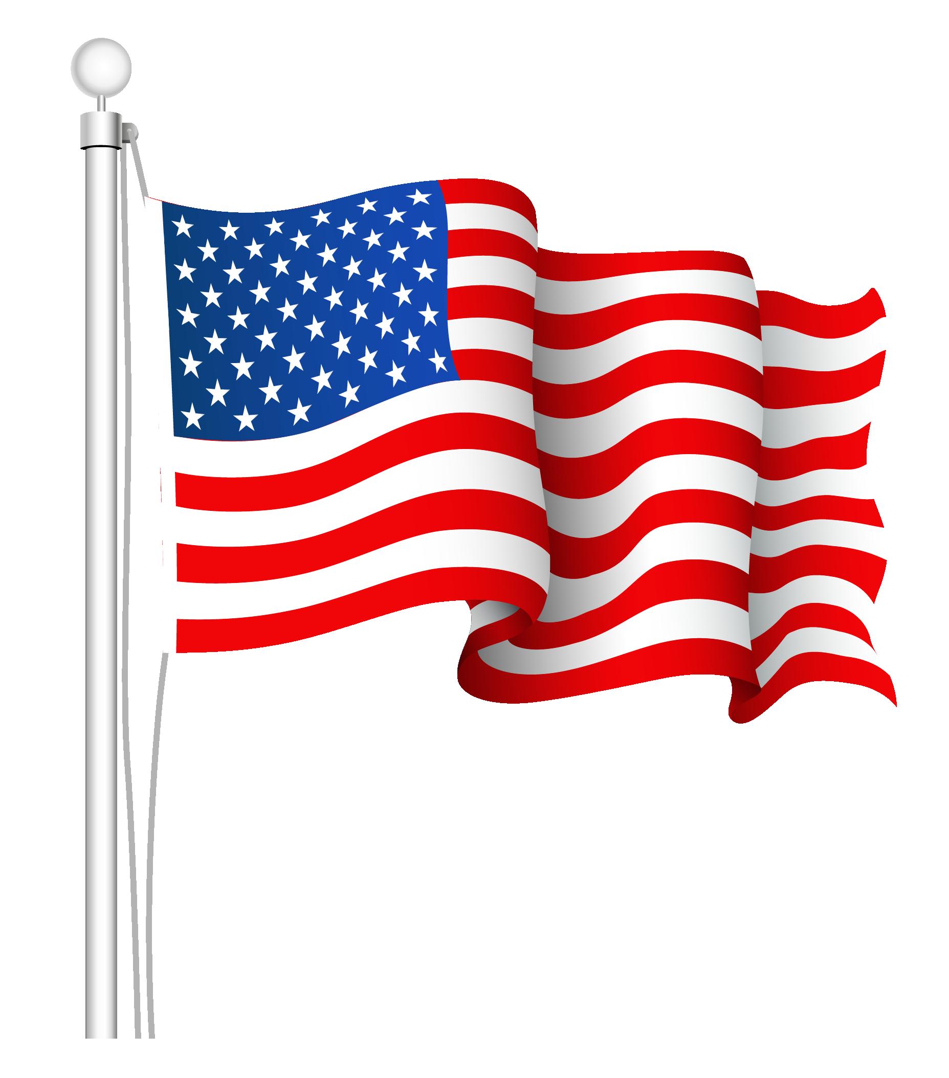1855x2108 American Flag Clipart