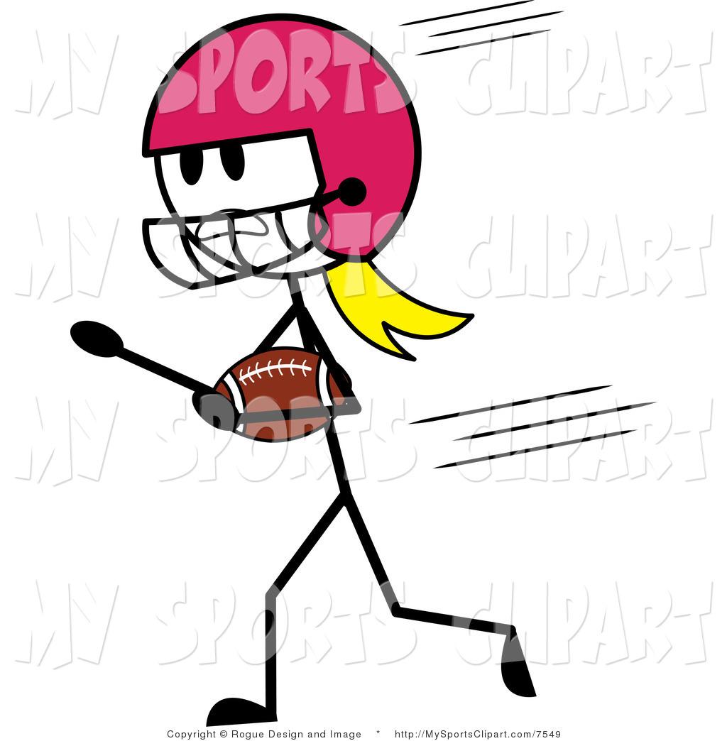 1024x1044 Flag Football Clipart